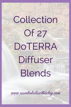 doTERRA diffuser blends galore! Today as I was cleaning a few old files off my computer, I came across an awesome stash from doTERRA that I just had to share with you. I counted 27 different blends from doTERRA for us to try out with our oils! You will have to let me know which is your favorite doTERRA diffuser blend, because I simply can't decide! As always, come on over to Exploring Essential Oils on Facebook to share your favorite one. More