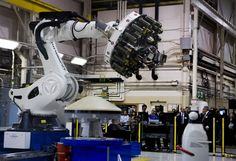 NASA Langley unveils a two-story, 7-ton robot, ISAAC, one of three like it in the country