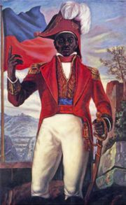 Today In History 'Jean Jacques Dessalines was a leader of the Haitian Revolution and the first ruler of an independent Haiti under the 1801 constitution. Jean Jacques Dessalines proclaimed the. Haitian Flag, Haitian Art, Douglas Macarthur, Jean Jacques Dessalines, Art Haïtien, Napoleon, Haiti History, Film Black Panther, Haitian Revolution