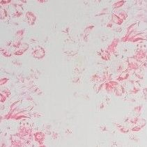 Beautiful faded pink floral print on natural linen fabric from Cabbages Roses Suitable for blinds and curtains light upholstery and soft furnishings