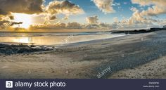 Download this stock image: Porth Nobla Sunset - FWGDPW from Alamy's library of millions of high resolution stock photos, illustrations and vectors.