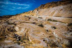 Φαρακλά | Λήμνος Φωτό: George Zarras Geology, Grand Canyon, Greece, Island, Greece Country, Islands, Grand Canyon National Park
