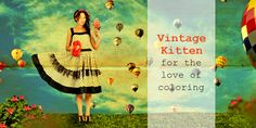 This website is a personal blog all about stress relief through adult coloring. It explores the tools used, such as pencils, pens, paing and textas, as well as the relaxing side of this hobby. http://www.vintage-kitten.com/