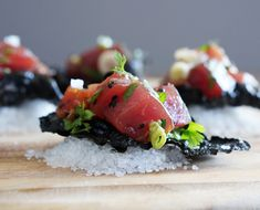 The New Kale Chips: Poke with Nori Chips