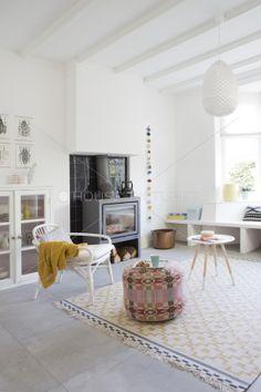 De woonkamer. Donna Wilson, Ikea, Zuiver, Petit Trianon
