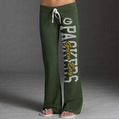 Green Bay Packers Womens Green 47 Brand Pep Rally Pants     LOVE LOVE LOVE!