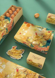 Native Eggs Packaging Design by TI tee Package Designs - Package Mockups