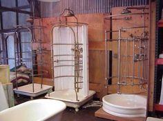 Antique plumbing fixtures