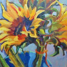 """Bucket of Sunshine"" - Original Fine Art for Sale - © Scarlet Owl Studio"