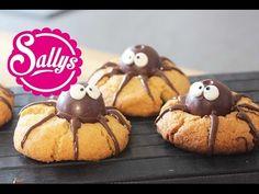 Rezept: ab morgen auf www.sallys-blog.de Diese leckeren Kekse sehen doch super süß aus, oder? Der Erdnussbutterteig ist nicht sehr süß, da der Spinennkörper ...