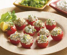 Tuna-Stuffed Cherry Tomatoes - Daisy Brand