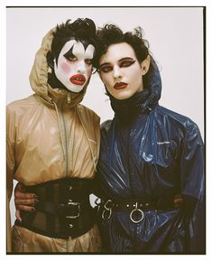 sussi and harry charlesworth are your new favourite alt beauty icons   look   i-D