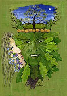 The Kiss of Spring was the first published work for more than 20 years, appearing as it did in the beltane Issue of Pagan Dawn in Oddly I never did get a copy of the printed work, so have no idea how it appeared Tree Faces, Walk The Earth, Beltane, Green Man, Optical Illusions, Gaia, Celtic, Modern Art, Kiss