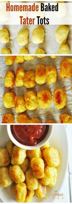 Baked Tator Tots (Vegan)   Gluten Free and Vegan Recipes by Michelle Blackwood