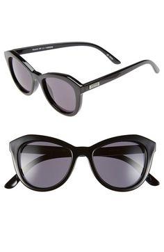 Le Specs 'Peach Pit' 52mm Cat Eye Sunglasses | Nordstrom