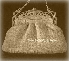 Hey, I found this really awesome Etsy listing at https://www.etsy.com/listing/163348637/vntg-empire-handbag-crochet-pattern