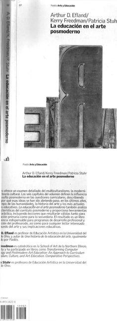 La Educación en El Arte Posmoderno Arthur Efland y Otros.