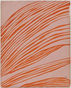 Louise Bourgeois Untitled, 1965 Gouache on pink card