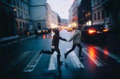 love, couple, and grunge-bild
