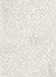 Khitan French Grey wallpaper by Nina Campbell