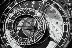 """""""Old Town Clock"""" Fotografie als Poster und Kunstdruck von John Rizzuto bestellen. - ARTFLAKES.COM Chicanas Tattoo, City Tattoo, Tattoos, Old Town Clock, Tattoo Prague, Tattoo Ideas, Tattoo Designs, Sand Glass, Camaro Zl1"""