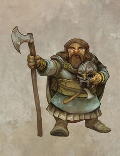 Nothdrug Rodagos is a dwarven warrior living in Thartis that is very proud of his skills and profession.