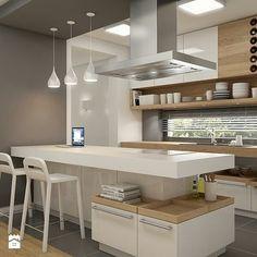 Consider Installing Kitchen Islands To Go With Your Unique Kitchen Design – Home Dcorz Kitchen Room Design, Modern Kitchen Design, Kitchen Layout, Home Decor Kitchen, Interior Design Kitchen, Kitchen Furniture, New Kitchen, Modern Design, Window Furniture
