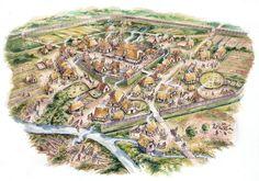 Saxon Burgh by David Hobbs www.redkinggames.com