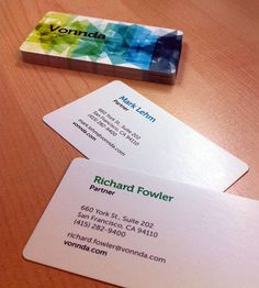Favorable Colorful Business Card