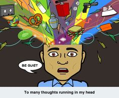 Sometimes we want quiet time in our heads. Too many thoughts making too much noise. #peace #quiet #bitstrips