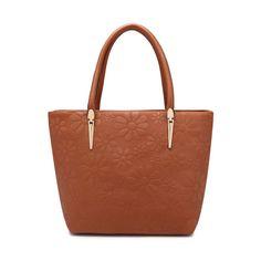 ESUFEIR High Quality PU Leather Shoulder Bag