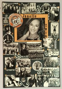 Senior Cheer Poster for Cheerleader - johanna Graduation Party Planning, Graduation Celebration, Graduation Ideas, Senior Cheerleader, Cheerleading, Cheer Posters, Sports Posters, Senior Day, Graduation Open Houses