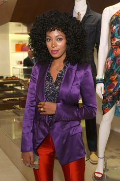 NEW YORK, NY - APRIL 12: Solange Knowles attends the Ferragamo Fifth Avenue Flagship Re-Opening at Salvatore Ferragamo on April 12, 2012 in New York City. (Photo by Neilson Barnard/Getty Images for Salvatore Ferragamo)