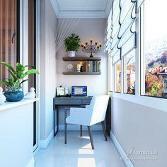 В традиионном стиле, Евгения Анфилова, Лоджия/Балкон, Дизайн интерьеров Formo.ua