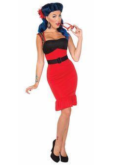 Scarlet Rose Rock-a-billy dress #pinup #sexy