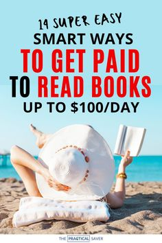 Love to read? Now you can make extra cash with your hoby, reading. Here are 13 Super Easy Ways to get Paid to Read Books. Seriously, earn up to $100/day by reading books. Learn how to get started and make money.. These work from home ideas are perfect for introverts or avid readers to make extra cash. | The Practical Saver | #makemoney #sidehustle Make Money Today, Hobbies That Make Money, Make Money Fast, Make Money From Home, Make Money Online, Things To Sell, Reading Books, Books To Read, Creating Passive Income