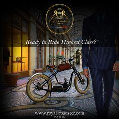 #Tailored #HighestClass #Gentlemen  #HauteCouture #Paris #Royal #GreenLifestyle #Distinguished #FeelRiding #Attitude #Grace #Elegance Electric Bicycle, High Class, New Experience, Gentleman, Attitude, Bike, French, Paris, Feelings