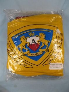 Amstel Beer Horse Insignia Logo Inflatable Pool Float Crest Chair Never Used (O)   eBay