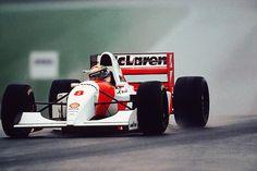 Ayrton Senna, Mclaren, Donington Park