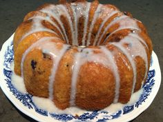 Morning glory cinnamon bun cake