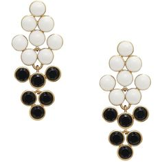 Paradise Pebbles Chandelier Earrings ($49) ❤ liked on Polyvore