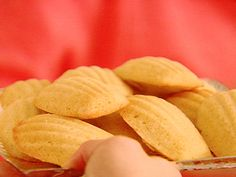 Coconut Madeleines Recipe : Ina Garten : - keeper for mop and sips