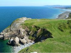 Angel Bay is an inlet on the Little Orme's Headland on the North Wales Coast. Known locally as Angel Bay it has been given the Welsh title o. Wales Uk, North Wales, Seaside Towns, Stunning View, Where To Go, Great Britain, Tourism, Coastal, Beautiful Places