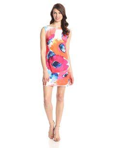 Trina Turk Women's Felana 2 Poppy Jersey Dress
