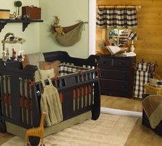 Derby Plaid Crib Bedding Collection- love the plaid!
