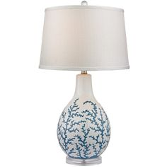 27In Sixpenny Table Lamp (445 BRL) ❤ liked on Polyvore featuring home, lighting, table lamps, nocolor, light blue table lamp, colored lights, white table lamp, baby blue lamp and colored lamps