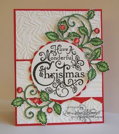 Lee Ann Barrett as Greyt Paper Crafts for Heartfelt Creations using the Christmas card collection; August 2013