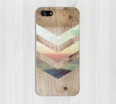 California Skies Ocean Wood Phone Case, iPhone 6, iPhone 6 Plus, Rubber iPhone Case, Galaxy S7 Samsung Galaxy Case Note 5 Nature CASE ESCAPE