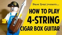 How to Play 4-String Cigar Box Guitar: Two lessons - Cigar Box Nation
