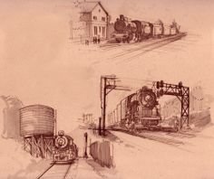 Johnson Draws Concepts: Sketches from Back in the Day